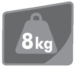 Nosnost 8kg