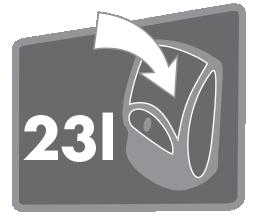 Objem 23L