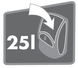 Objem 25L