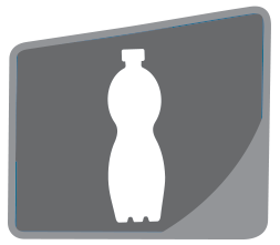 Síťované kapsy na láhev