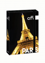 Box na sešity A4 Jumbo GEO CITY Paris