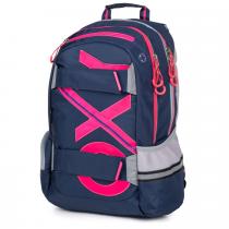 Studentský batoh OXY Sport BLUE LINE Pink f4ac389fa8