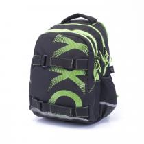 b0630087921 Studentský batoh OXY One Wind Green