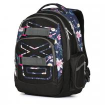 3d55172048 Studentský batoh OXY Style Flowers
