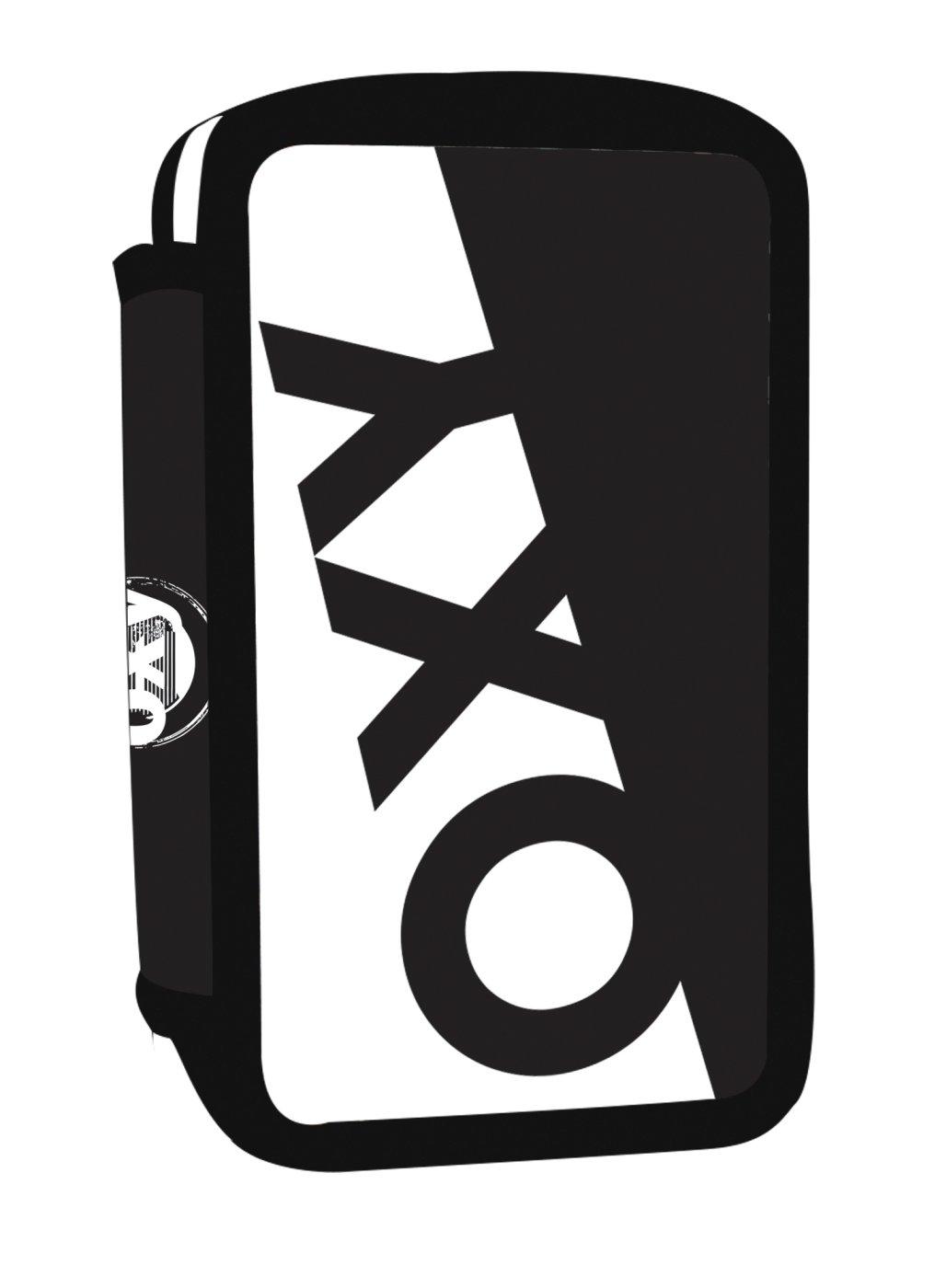 Penál 3 p. prázdný OXY NEON LINE Black   White - Školní potřeby ... 62d3a9f60f