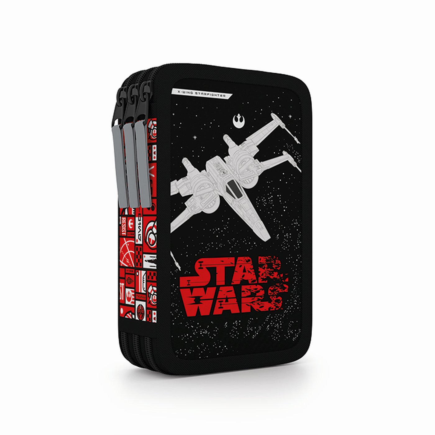 Penál 3 p. prázdný Star Wars - Školní potřeby » PENÁLY NENAPLNĚNÉ ... 4fd4678f89