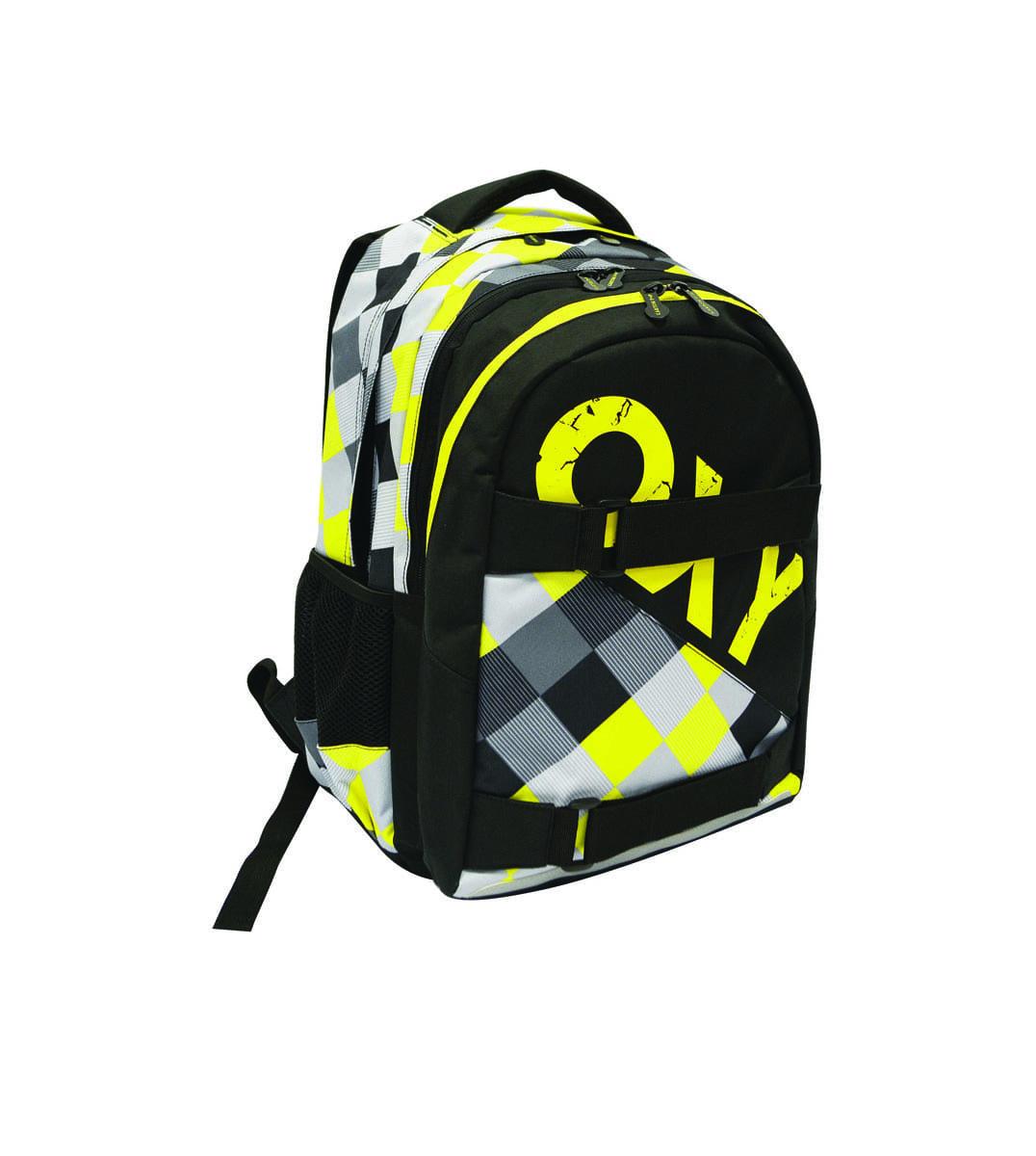 4d7d5ed0386 Studentský batoh OXY One Yellow - Školní potřeby » OXY STUDENTSKÉ ...