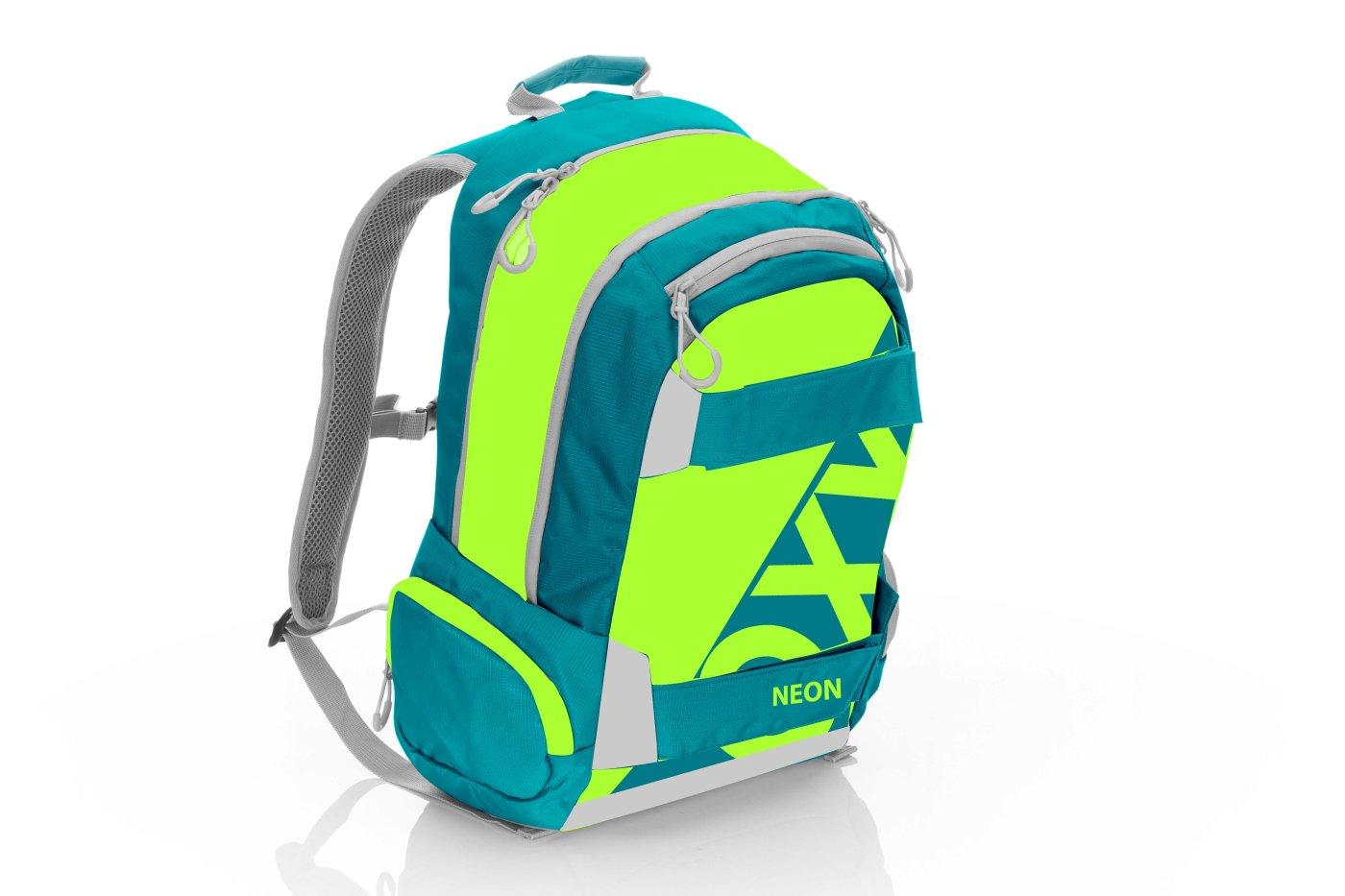 Studentský batoh OXY Sport NEON Green - Školní potřeby » OXY ... a38833a55b