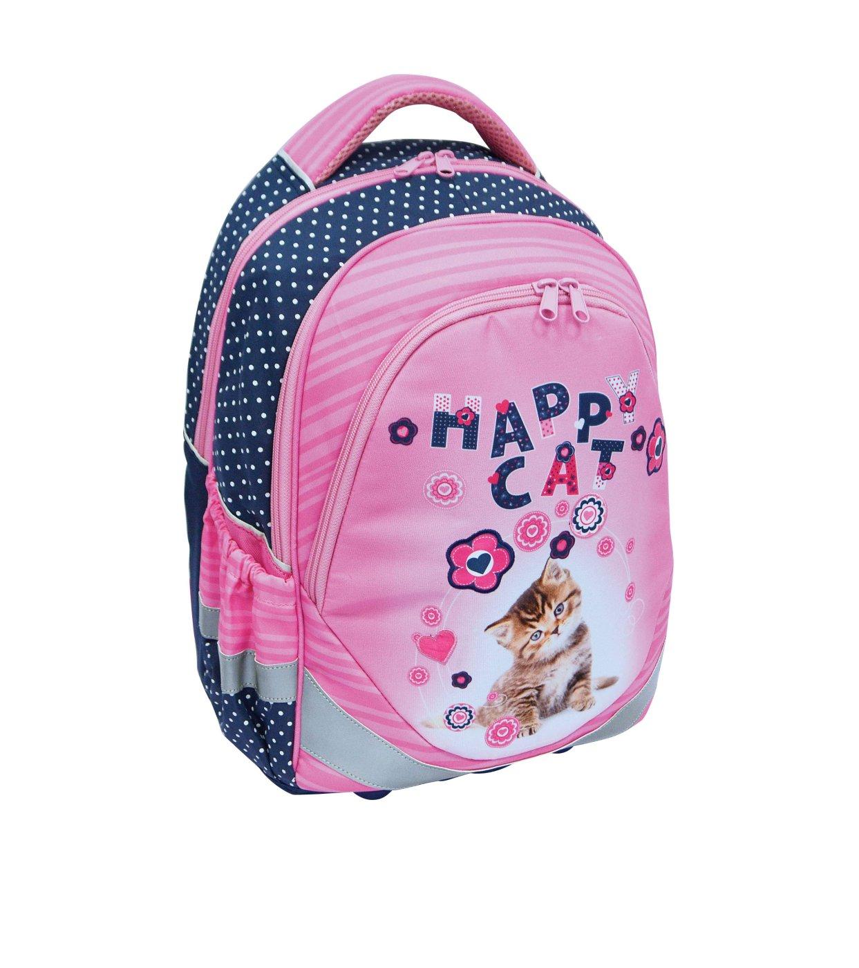 709d9b08acd Školní batoh ERGO JUNIOR kočka - Školní potřeby » BATOHY A AKTOVKY ...