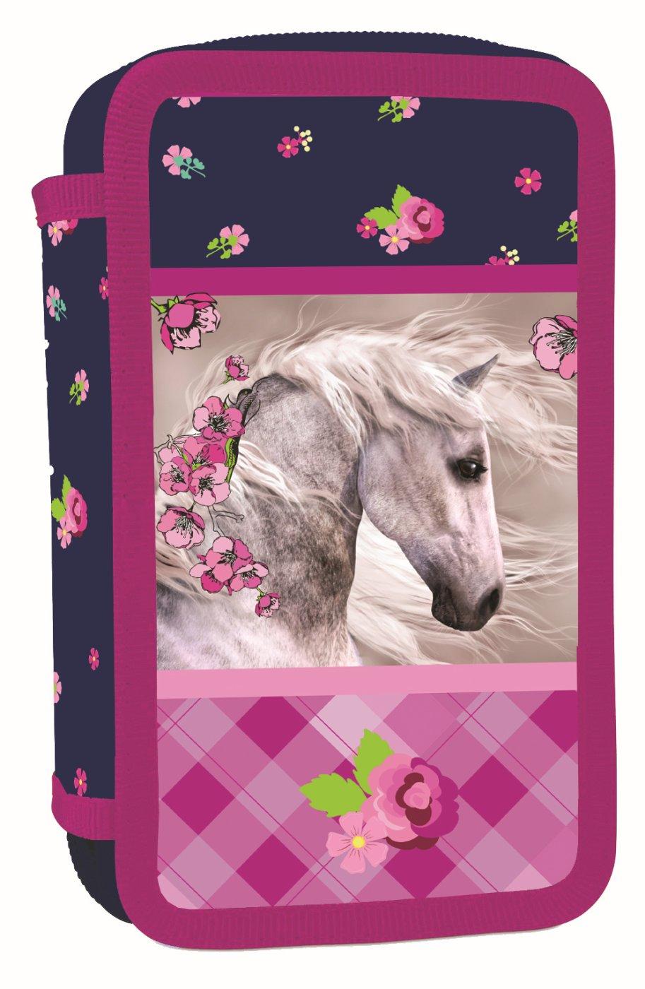 ... Školní potřeby · PENÁLY NENAPLNĚNÉ · Trojpatrové · Penál 3 p. prázdný  kůň Bez licence · Image 8600af112c