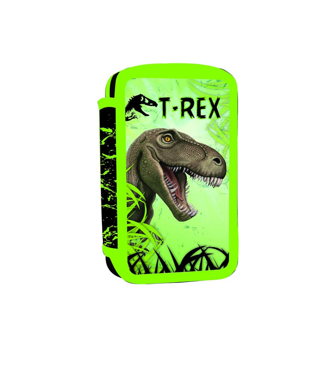 ... Školní potřeby · PENÁLY NENAPLNĚNÉ · Trojpatrové · Penál 3 p. prázdný  T-rex Bez licence · Image 49a25ae151