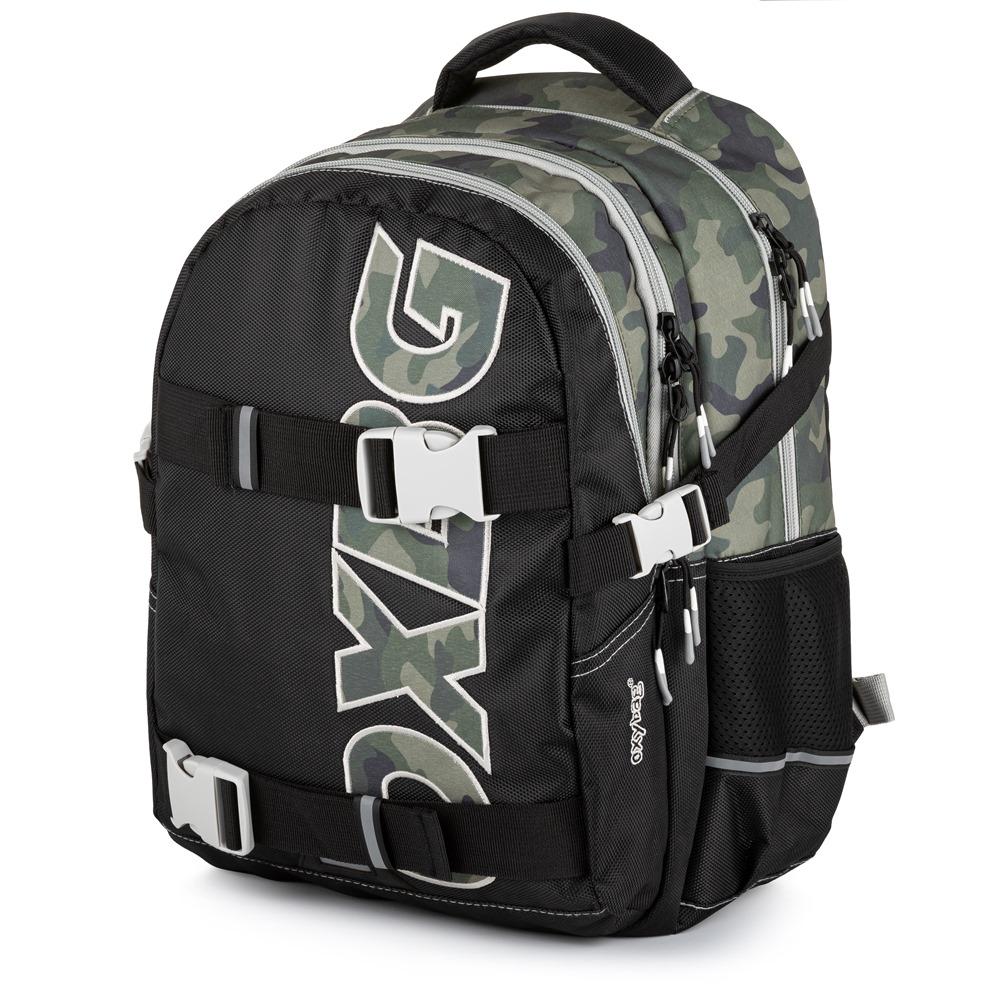 30c1b61635f Studentský batoh OXY One Army