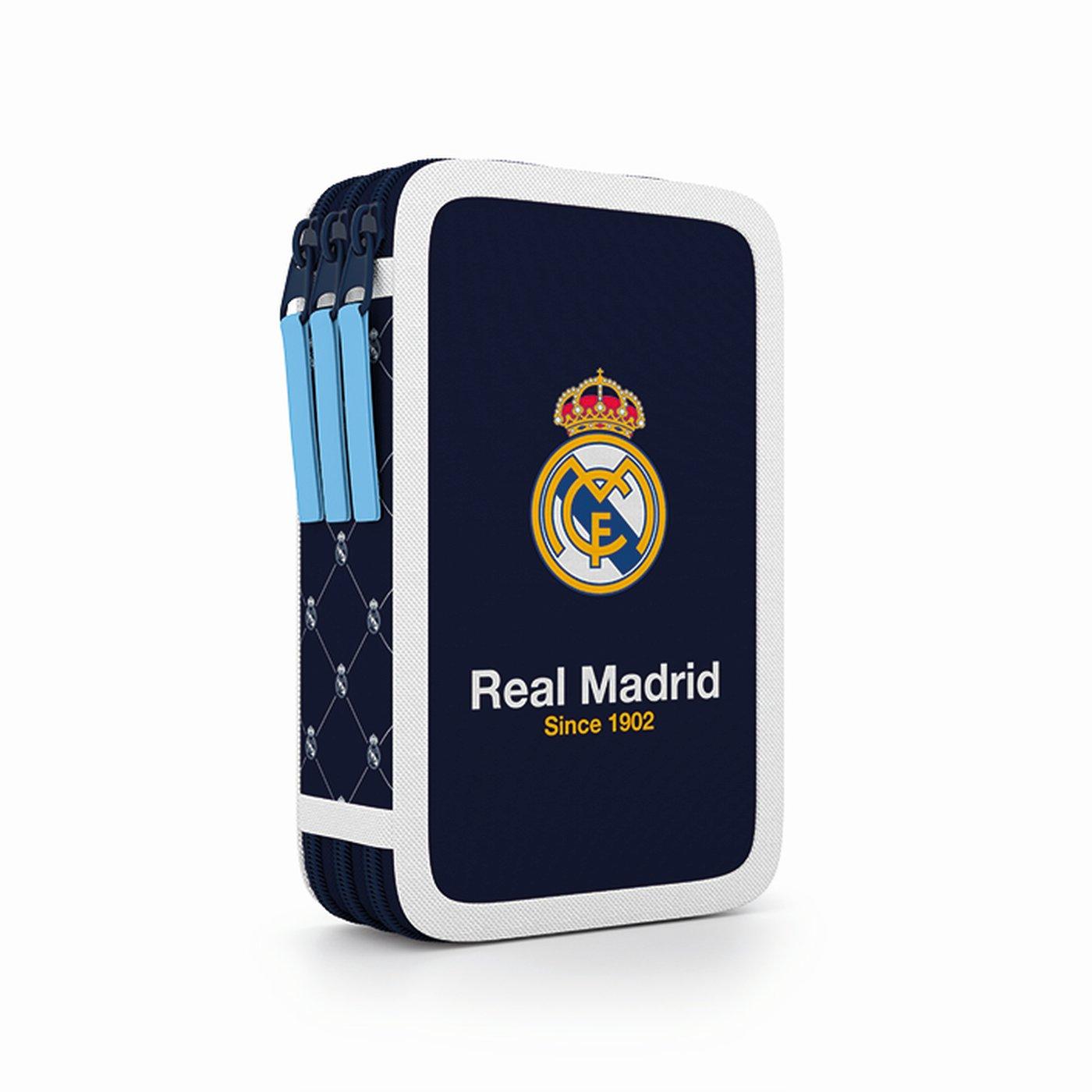 Penál 3 p. prázdný Real Madrid - Školní potřeby » PENÁLY NENAPLNĚNÉ ... e2d8ba573b